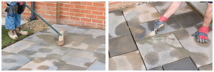 Fill Gaps Between Slabs With Mortar
