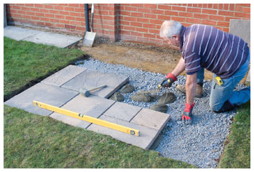 How to install paving slabs clearance paving for How to clean concrete slabs