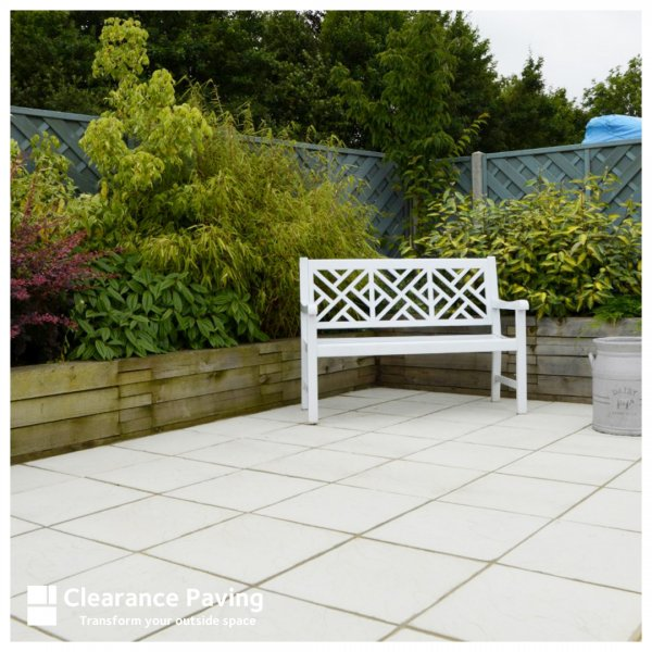 Stamford Riven Paving Slabs in Natural 450 x 450mm