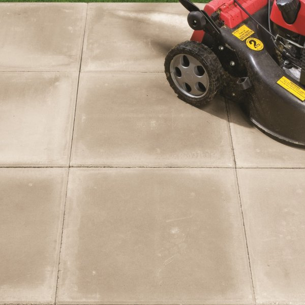 Broadway Smooth Paving Slabs in Natural 450 x 450mm