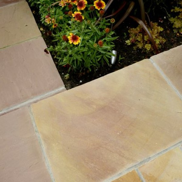 4 Size 15.37m² Riven Sandstone Patio Pack Modak
