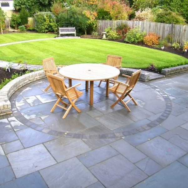 4 Size 15.37m² Riven Sandstone Patio Pack Twilight
