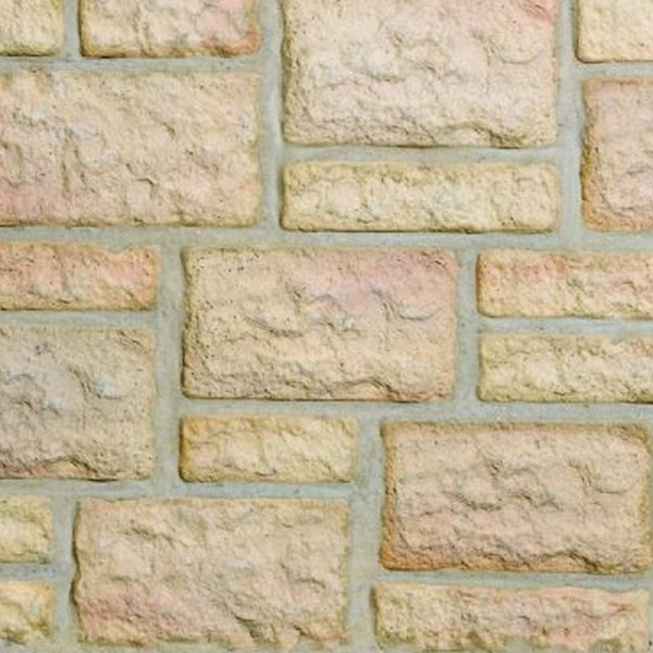 Three Size Garden Walling Weathered Apricot