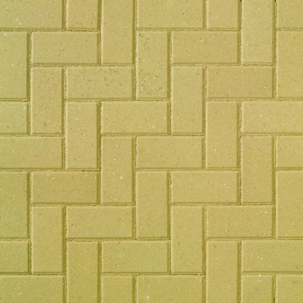 Smooth Single Size 200x100x50mm Block Paving Buff