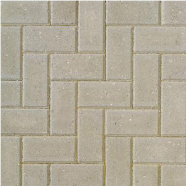 77m² Single Size Smooth Chamfered 60mm Block Paving Natural