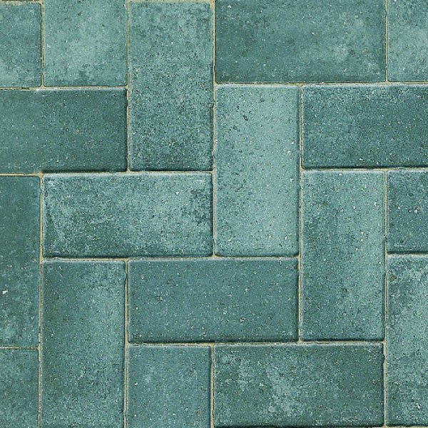 Smooth Single Size 200x100x50mm Block Paving - Silver Haze