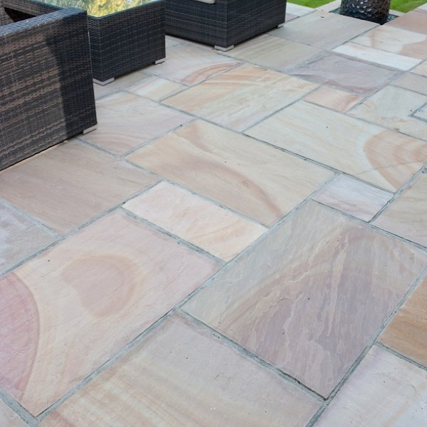Riven Sandstone Single Size 600x600x22mm - Modak