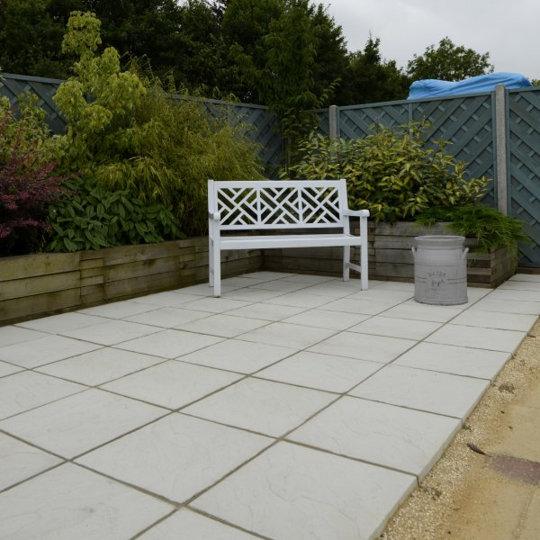 Stamford Riven Paving Slabs in Natural 600 x 600mm