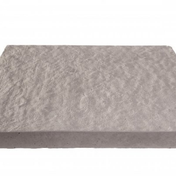 64 No. 450x450x32mm Gently Rippled Paving Slabs Charcoal