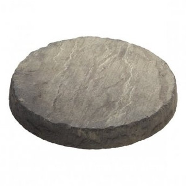 4 x Circular Stepping Stones Weathered Stone