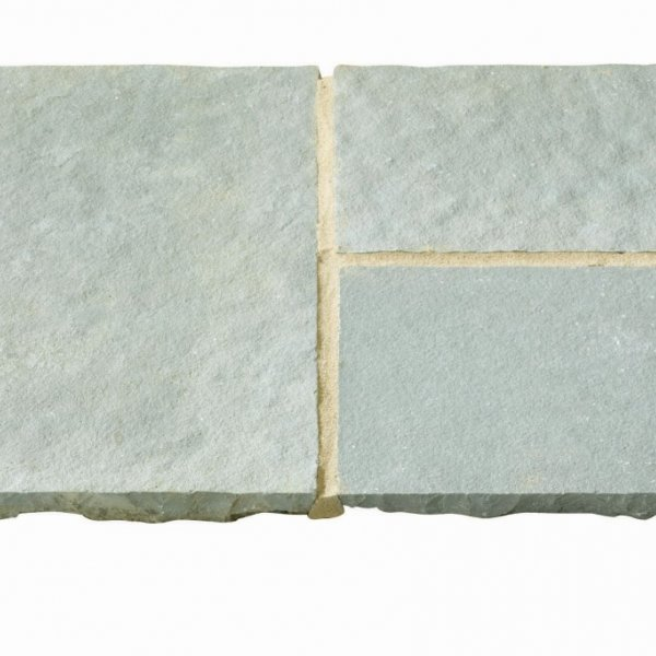 Rippled Limestone Circle and Corner Pack - Ocean Spray