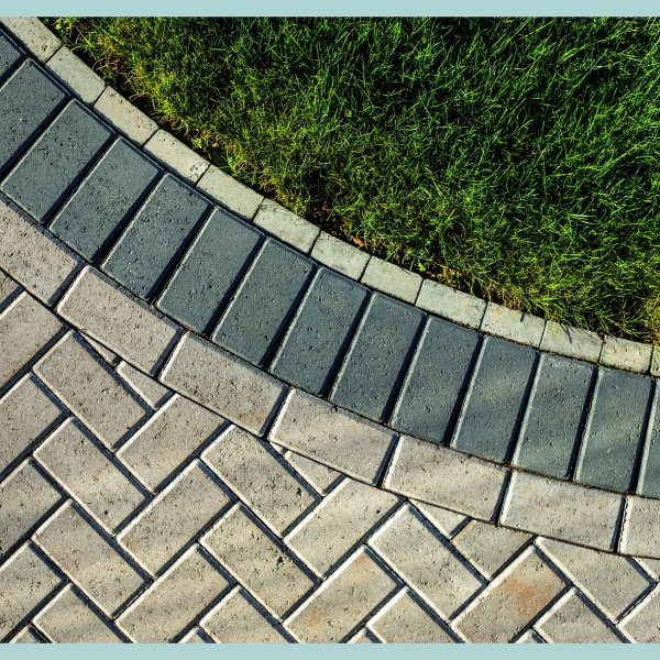 Omega Block Paving in Natural 50mm