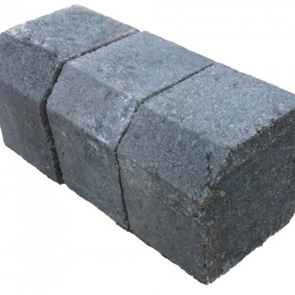 13.5 Linear Metres Concrete Reversible Kerb Charcoal