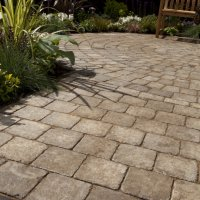 Alpha Circle Pack Block Paving in Burnt 50mm