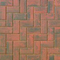 Smooth Single Size 200x100x60mm Block Paving Brindle