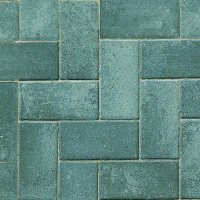 Omega Single Size 200x100x50mm Block Paving - Silver Haze