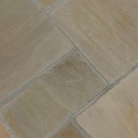 4 Size 15.37m² Riven Sandstone Patio Pack Forest Glen