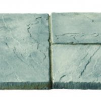 32 No. 600x600x32mm Riven Paving Slabs Weathered Stone