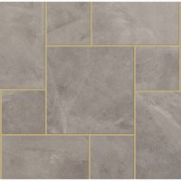 Eden Slate Porcelain Patio Pack 21.54m² - Clouded Sky