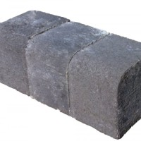 27 Linear Metres Concrete Reversible Kerb Charcoal